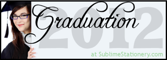 Graduation Announcements and Invitations Class Of 2011 by Sublime Stationery